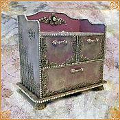 "Подарки к праздникам handmade. Livemaster - original item Casket dresser ""Josephine"". Handmade."
