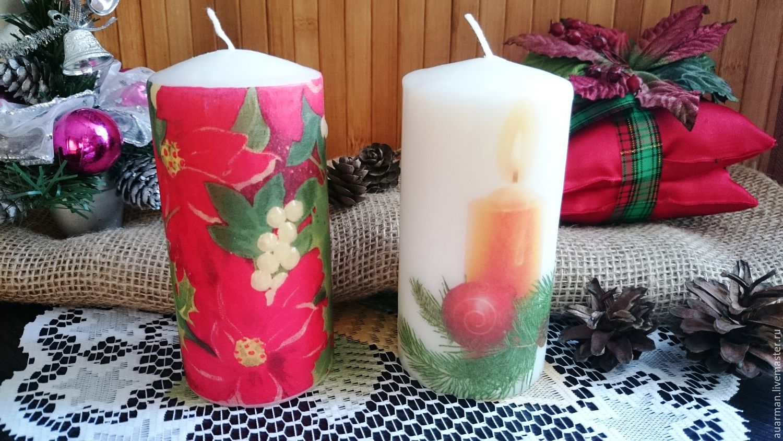Подарки свечи с фото 191
