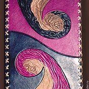 Канцелярские товары ручной работы. Ярмарка Мастеров - ручная работа Коллекция ежедневников в обложке из кожи. Handmade.
