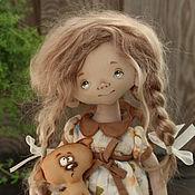 Куклы и игрушки ручной работы. Ярмарка Мастеров - ручная работа Авторская текстильная кукла Кира. Handmade.