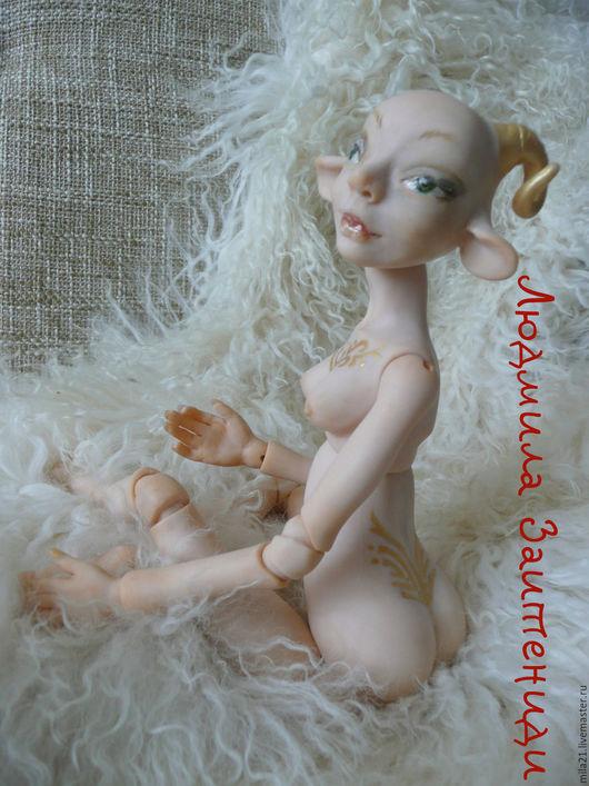 Коллекционные куклы ручной работы. Ярмарка Мастеров - ручная работа. Купить Кукла Овен. Handmade. Комбинированный, интерьерная кукла