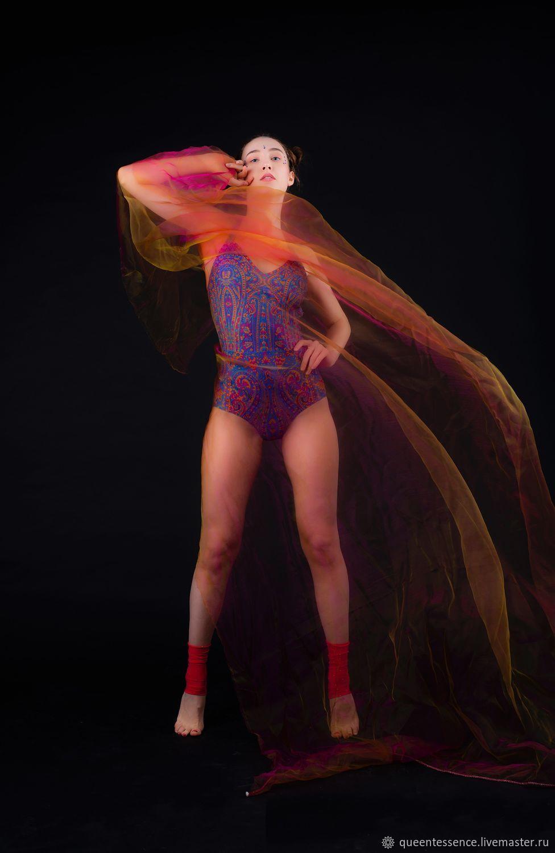 Боди женское для танцев и гимнастики «Sogdiana», Комбинезоны, Обнинск,  Фото №1