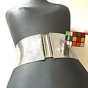 Аксессуары handmade. Livemaster - original item mirror belt elastic 95mm, different height at different prices. Handmade.