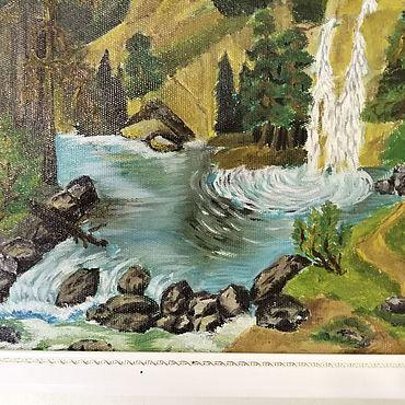 Картины и панно ручной работы. Ярмарка Мастеров - ручная работа Картина маслом на холсте. Handmade.
