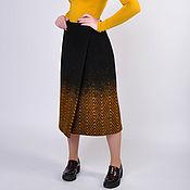 Одежда handmade. Livemaster - original item Warm winter skirt made of wool. Handmade.
