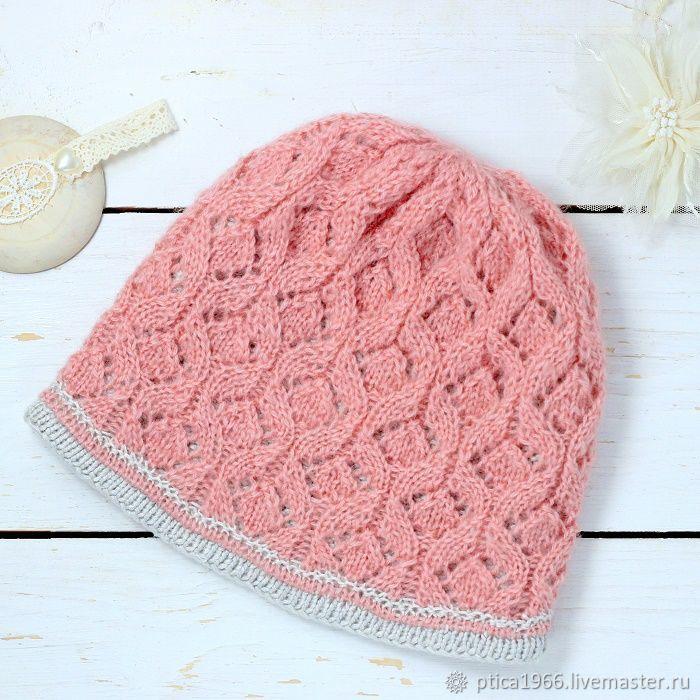 b9f818501d8 Hats handmade. Livemaster - handmade. Buy Hat double Pink openwork