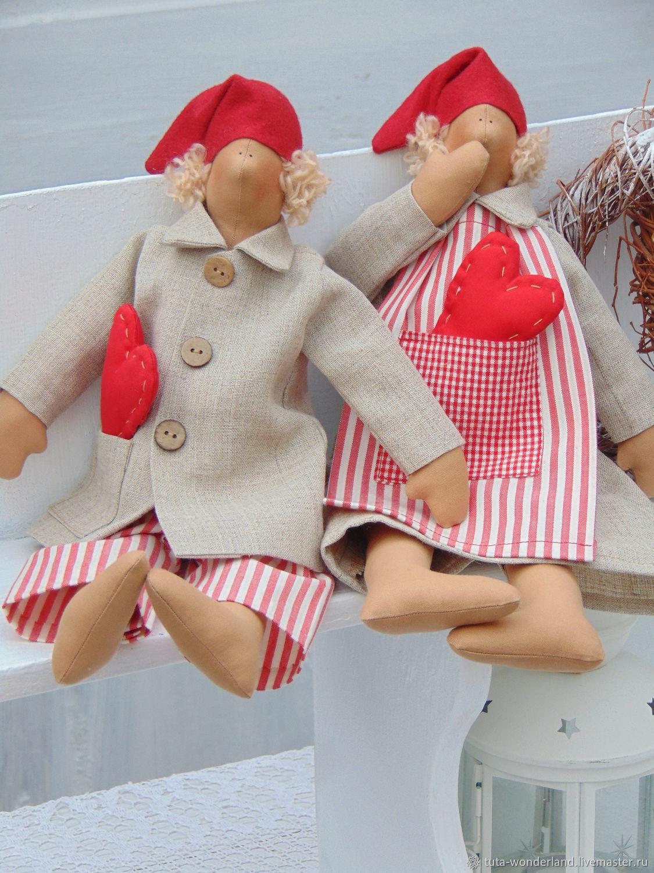 """Tilda. Интерьерная кукла """"Гном"""", Куклы Тильда, Россошь,  Фото №1"""