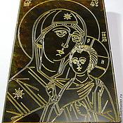 Картины и панно handmade. Livemaster - original item Amber. Petrovskaya Mother Of God R-015. Handmade.