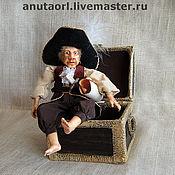 """Куклы и игрушки ручной работы. Ярмарка Мастеров - ручная работа Кукла """"Пират"""". Handmade."""