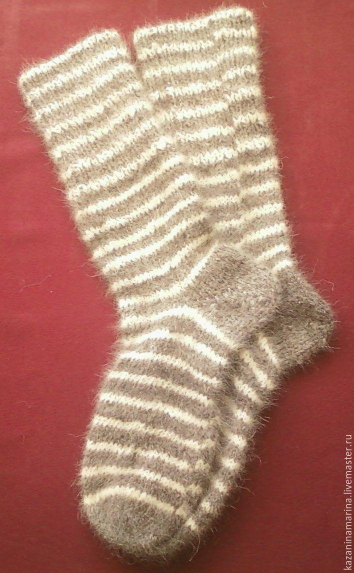 Носки, Чулки ручной работы. Ярмарка Мастеров - ручная работа. Купить Носки из собачей шерсти. Handmade. Подарок, теплые носки