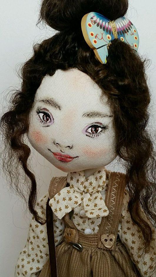 Коллекционные куклы ручной работы. Ярмарка Мастеров - ручная работа. Купить Чоу. Бабочка. Моя Япония. Handmade. текстильная кукла