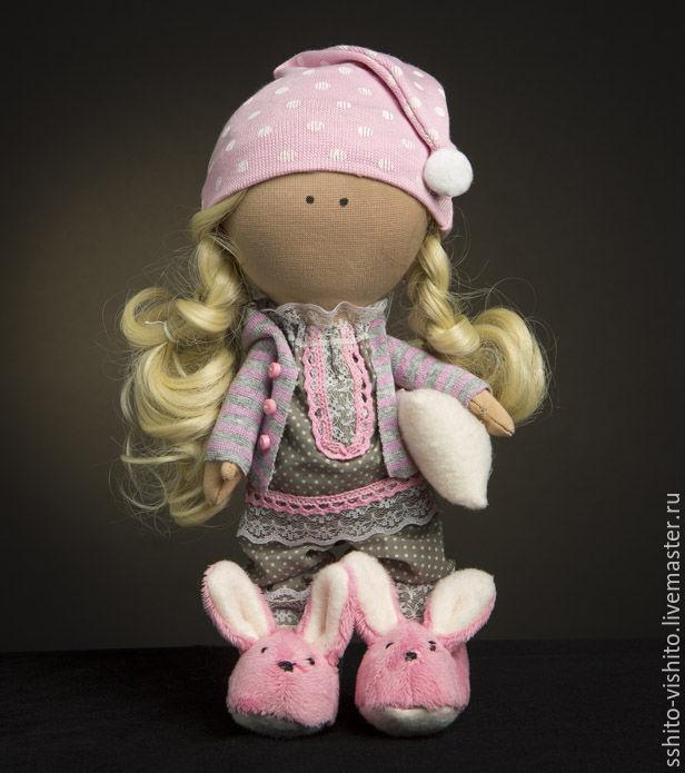 Шитье куклы тряпичной куклы