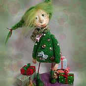 Куклы и игрушки ручной работы. Ярмарка Мастеров - ручная работа Елочка. Handmade.