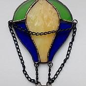 Модели ручной работы. Ярмарка Мастеров - ручная работа Витражный воздушный шар. Handmade.