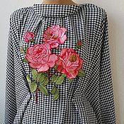 Материалы для творчества handmade. Livemaster - original item Embroidery, lace, applique. Alice in the Rose Garden. Handmade.