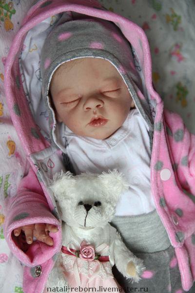 Куклы-младенцы и reborn ручной работы. Ярмарка Мастеров - ручная работа. Купить Полина. Handmade. Реборн, bonnie brown, маттварниш