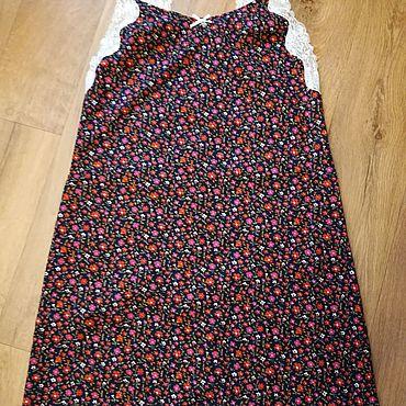 Одежда ручной работы. Ярмарка Мастеров - ручная работа Сорочки: Ночная сорочка из хлопка. Handmade.