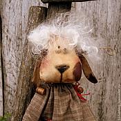Куклы и игрушки ручной работы. Ярмарка Мастеров - ручная работа Овечка Аглая.. Handmade.
