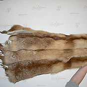 Одежда ручной работы. Ярмарка Мастеров - ручная работа Шкурки рыжей лисы. Handmade.