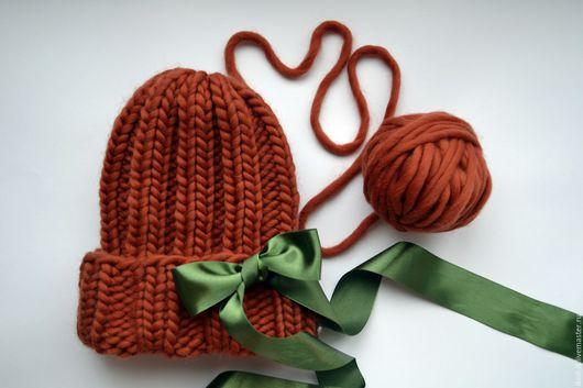Шапки ручной работы. Ярмарка Мастеров - ручная работа. Купить Модная шапка. Handmade. Комбинированный, объемная шапка, теплая шапка