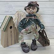 """Куклы и пупсы ручной работы. Ярмарка Мастеров - ручная работа Кукла коллекционная интерьерная кукла. Ангел """"Кузьма"""". Handmade."""