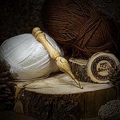 Материалы для творчества handmade. Livemaster - original item Crochet hook 4,5#19. Handmade.
