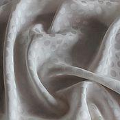 Материалы для творчества ручной работы. Ярмарка Мастеров - ручная работа Молочный жаккардовый шелк, 1600руб-м. Handmade.