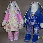 """Куклы и игрушки ручной работы. Ярмарка Мастеров - ручная работа Зайка по мотивам """"Тильда"""". Handmade."""