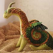 Куклы и игрушки ручной работы. Ярмарка Мастеров - ручная работа Весенний дракон Рихард. Handmade.