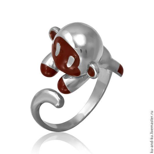 Кольца ручной работы. Ярмарка Мастеров - ручная работа. Купить Кольцо. Веселые обезьянки. (KU&KU) Ку-энд-Ку. Handmade.