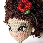 Куклы и игрушки ручной работы. Ярмарка Мастеров - ручная работа Красавица. Каркасная кукла.. Handmade.