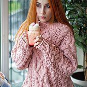Sweaters handmade. Livemaster - original item Sweater Mix in soft powdery color. Handmade.