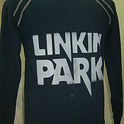 """Одежда ручной работы. Ярмарка Мастеров - ручная работа толстовка унисекс """" Linkin park -11"""". Handmade."""