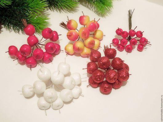 Другие виды рукоделия ручной работы. Ярмарка Мастеров - ручная работа. Купить Пучки яблок , грибов ( 12 шт). Handmade.