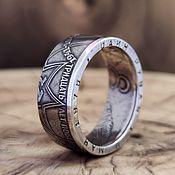 Украшения handmade. Livemaster - original item Ring from 1 ruble coin -