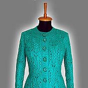 """Одежда ручной работы. Ярмарка Мастеров - ручная работа Кардиган """"Изумрудные бабочки"""". Handmade."""