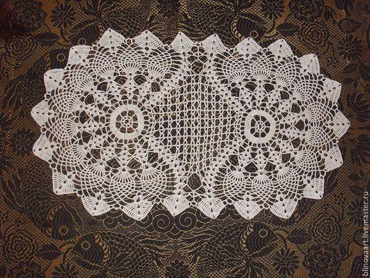 Текстиль, ковры ручной работы. Ярмарка Мастеров - ручная работа. Купить Салфетка вязаная крючком Уютная. Handmade. уютный дом