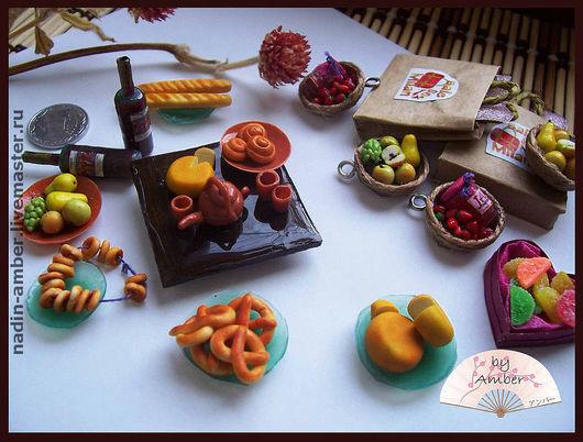 Еда ручной работы. Ярмарка Мастеров - ручная работа. Купить миниатюрная еда. Handmade. Миниатюра, эпоксидная смола