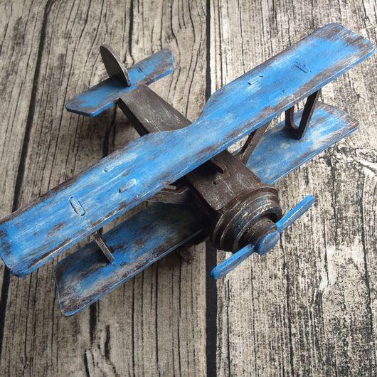 Комплекты аксессуаров ручной работы. Ярмарка Мастеров - ручная работа. Купить Ретро самолет. Handmade. Голубой, уют, ретро стиль