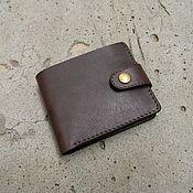 Сумки и аксессуары handmade. Livemaster - original item Mens wallet,leather. Handmade.