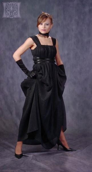 Платья ручной работы. Ярмарка Мастеров - ручная работа. Купить Вечернее платье на любую фиругу (модель №9). Handmade. шифон
