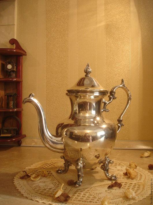 Винтажная посуда. Ярмарка Мастеров - ручная работа. Купить 19 ВЕК!!! Антикварный большой чайник!!!. Handmade. Старинный чайник, старина