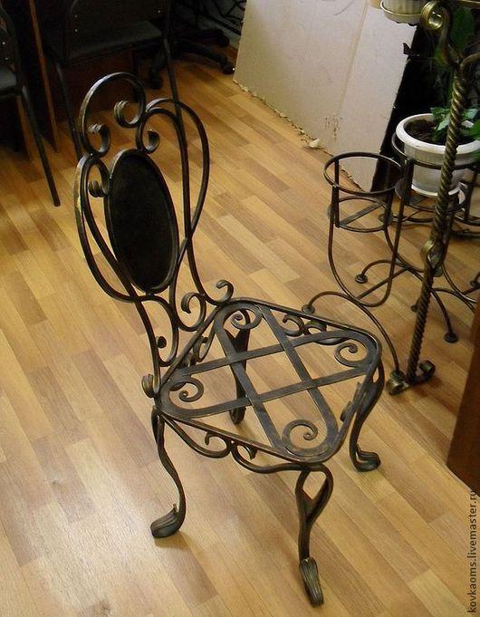 Мебель ручной работы. Ярмарка Мастеров - ручная работа. Купить Кованый стул. Handmade. Стул, кованая мебель, мебель на заказ