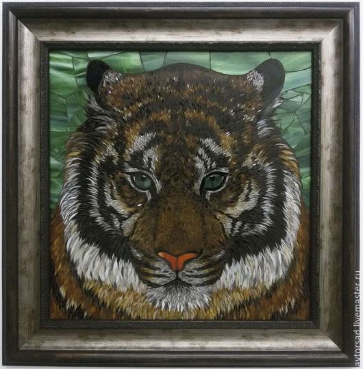 Мозаичная картина `Тигр`
