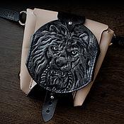 Сумки и аксессуары handmade. Livemaster - original item Bag hip LPZH with a lion. Handmade.