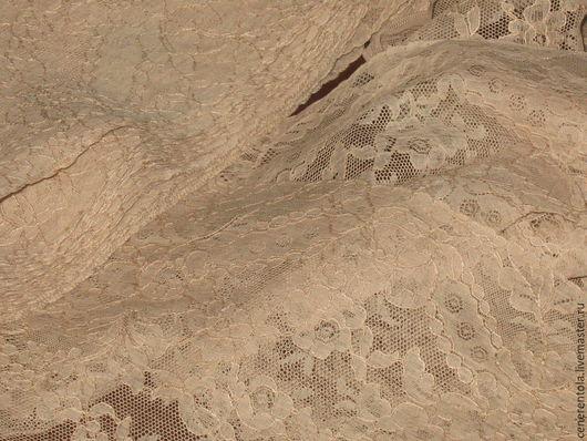 Реставрация. Ярмарка Мастеров - ручная работа. Купить винтажное французское хлопчатобумажное кружево. цвет экрю.. Handmade. Бежевый, хлопчатобумажное кружево