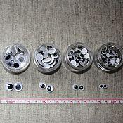 Материалы для творчества ручной работы. Ярмарка Мастеров - ручная работа Глазки бегающие для игрушек (набор 10 шт). Handmade.