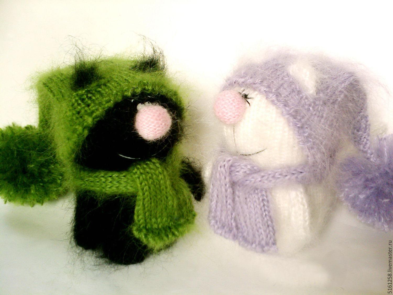 Фото схемы вязания мишки