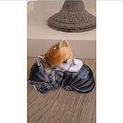 Винтаж ручной работы. Ярмарка Мастеров - ручная работа Коллекция статуэток кошечки фарфор. Handmade.