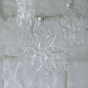 Материалы для творчества handmade. Livemaster - original item Snowflake glass blanks. Handmade.